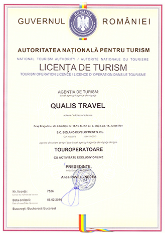 Licenta Qualis Travel
